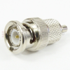 SMC Female (Jack) to BNC Male (plug) Adapter, 1.35 VSWR -- SM3686 - Image