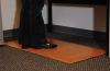 Grand-Stand Deluxe Industrial Mats - Standard Sizes - Wood Elements -- 238W3664