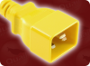 IEC-60320-C20 YELLOW to IEC-60320-C13 YELLOW HOME • Power Cords • IEC/Jumper Power Cords • Colored -- 5345.048Y -Image