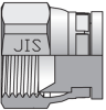 JIS Caps And Plugs Steel -- 12FNMT4S - Image