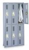Locker,Metal,2 Tier -- 5JP65