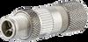 M12 Field Plug ST raight -- MNF881a315