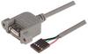 L-COM - UPMA5-3M - COMPUTER CABLE, USB, 3M, GRAY -- 284000