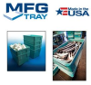 FIBER GLASS STACKING TRAYS & BOXES -- H814108