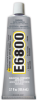 Eclectic E6800 UV Industrial Strength Solvent Based Adhesive Clear 3.7 oz Tube -- UV-6800 3.7 OZ TUBE -Image
