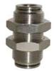 12mm OD Tube x 12mm OD Tube Stainless Steel Bulkhead Union -- 54846