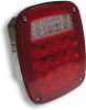 Universal Stop-Tail, Back-Up, License Light 47764, 3 Stud Mount -- 47764 -- View Larger Image