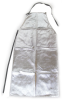 Chicago Protective Apparel Aluminized Rayon Welding & Heat-Resistant Apron - 24 in Width - 48 in Length - 548-ARH -- 548-ARH - Image