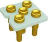 Relay Sockets, Solder Dip/5 Pin -- FSE1A-5P-AL50 - Image
