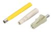 Fiber Optic Connector, Ceramic Ferrule, LC Multimode Simplex, 127-µm/2.0-mm -- FOT222