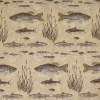 Chenille Fish Freize Fabric -- R-Halifax - Image
