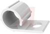 Clip; Wire Harness Clip; UV Stabilized Nylon; 0.25 in.; 1/2 in.; 0.4 in. -- 70209061