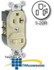 Leviton Single-Pole Switch/Receptacle -- 5335