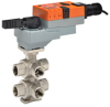 Six Way ZONETIGHT? Characterized Control Valve with a Non-Spring Return Actuator