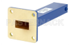 1.5 Watts Low Power Commercial Grade WR-62 Waveguide Load 12.4 GHz to 18 GHz, Bronze -- PEWTR1004 - Image