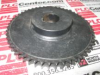 US TSUBAKI D40B52-1-1/2 ( GEAR DBL SPROCKET 1/2IN PITCH/52TOOTH 1-1/2IN BORE ) -Image