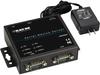 Industrial Server (2) RS232/422/485 DB9 M (1) 10/100Mbps RJ45 -- LES302A-KIT - Image