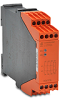 SAFETY RELAY, 24VDC, 3 N.O.+1 N.C. CONTACT, 1-CHANNEL, E-STOP -- LG5924-48-61-24
