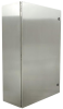Stainless steel control cabinet Wiegmann N412362410SSC -Image