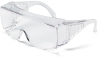 Yukon XL Visitor Glasses > FRAME - Clear > LENS - Clear, uncoated > UOM - Each -- 9800XL