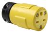 Pass & Seymour® -- Rubber Housing Connector, Yellow - 1549