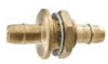 Barb to Barb Bulkhead Fitting -- MBHA Series