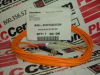 CABLE FIBER 2METER SC/ST PATCH DUPLEX ORANGE -- 60201020002 - Image
