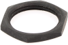 Carling Technologies 380-08606 Hex Face Nut, Black, 15/32