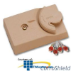 Suttle CorroShield 4-Conductor Surface Mount Jack with.. -- 625T4NS-XXRC