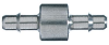 316 stainless steel straight barbed conn -- GO-31208-01