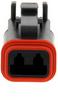 Rectangular Connectors, Heavy Duty - DT Series -- DT06-2S-CE06