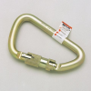 """Carabiners - Steel, 1"""""""" gate opening > UOM - Each -- 17D-1 -- View Larger Image"""