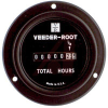 Meter, Hour; 6 Digit, 99999.9 hr; 120 VAC; 60 Hz; Screw; 2 in. Dia.; Panel; 1 -- 70132720