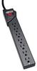 7 Outlet, 12-ft Cord, 1080 Joule, Black Strip - Protect It! Surge Suppressor -- TLP712B