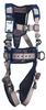 DBI-SALA ExoFit STRATA Grey, Blue Small Vest-Style Shoulder, Back, Leg Padding Body Harness - Polyester Webbing - 840779-10999 -- 840779-10999