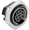 Panel Mount Receptacle DIN Mini Circular Connector -- MD-80CV