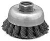 2-3/4 130, 2-3/4 Inch Knot Type Wire Cup Brush -- 43090