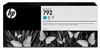 792 Latex Designjet Ink Cartridges for L26500/L28500- Cyan -- CN706A