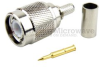 TNC Male Connector Crimp/Solder Attachment For RG58, RG303, RG141, LMR-195, LMR-195-FR, 0.195 inch Cable -- SC4262 -Image