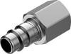 Quick coupling plug -- NPHS-S6-M-G14F - Image