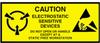 """Label, Yellow/Black 2"""" x 5""""  """"Caution Sensitive Devices"""" -- 301-2050 -- View Larger Image"""