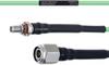 Temperature Conditioned Low Loss SMA Female Bulkhead to TNC Male Cable LL160 Coax in 36 Inch -- FMHR0191-36 -Image