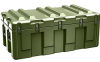 Pelican AL4824-1404 Single Lid Trunk Shipping Case with Foam and Casters - Olive Drab -- PEL-AL4824-1404RPFC137 -Image