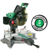 HITACHI 12 In. Dual Bevel Compound Miter Saw with Laser -- Model# C12FDH