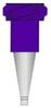 Fisnar QuantX™ 5901016 PTFE Coated Micron-S Precision Standard Bore Nozzle Purple 23 ga -- 5901016 -Image