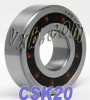 CSK20 One way Bearing Sprag Freewheel Backstop Clutch -- Kit8180