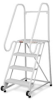 RELIUS SOLUTIONS Tip-N-Roll Ladder with FDA-Compliant Finish -- 7961100