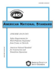 ANSI/ASSE A10.28-2011 Safety Requirements for Work Platforms Suspended from Cranes or Derricks -- 283P