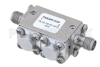 Dual Junction Isolator With 34 dB Isolation From 18 GHz to 26.5 GHz, 5 Watts And SMA Female -- PE83IR1025 - Image