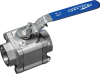 3-PC High Pressure Industrial Ball Valve -- Series 83 -- View Larger Image